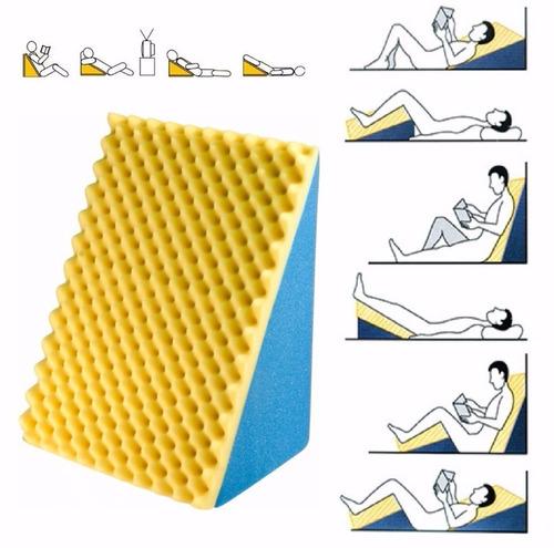 encosto travesseiro triangulo amamentação antirefluxo c/capa