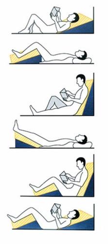 encosto triangulo amamentação leitura e descanso
