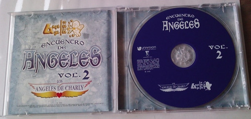 encuentro de angeles vol 2  a azules y angeles de charly cd
