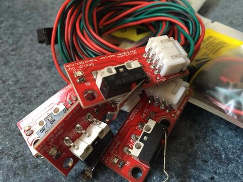 end stop mecanico y optico para impresora 3d