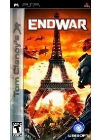 end war - sony psp - original - completo