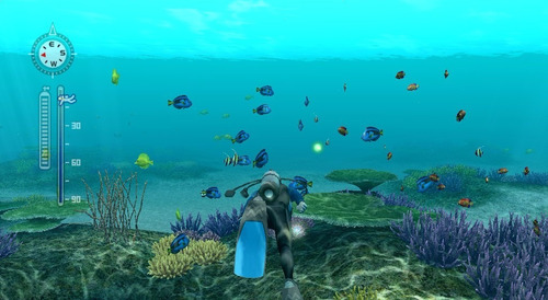 endless ocean blue world wii + wii speak novo e lacrado!
