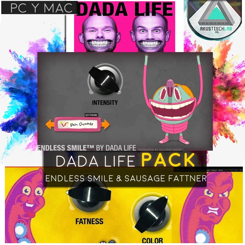 Endless Smile Sausage Fattner Dada Life Win Mac | Au Vst