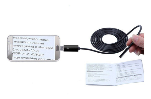 endoscope camera smartphone usb 7mm android / pc 2m