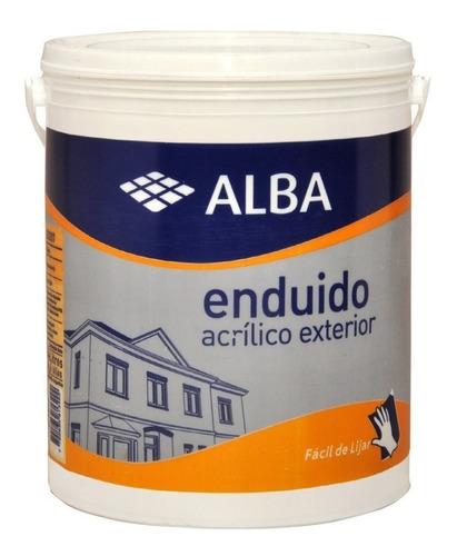 enduido acrilico exterior alta performance alba 4lt pintumm