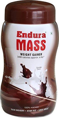 endura mass weight gainer 500gms- sabor a chocolate por
