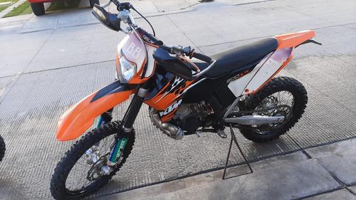 enduro ktm ecx 200cc modelo 2010 2t