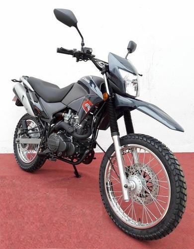 enduro moto motos zanella 250
