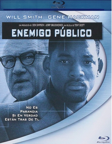 Enemigo Publico Enemy The State Will Smith Pelicula Blu Ray