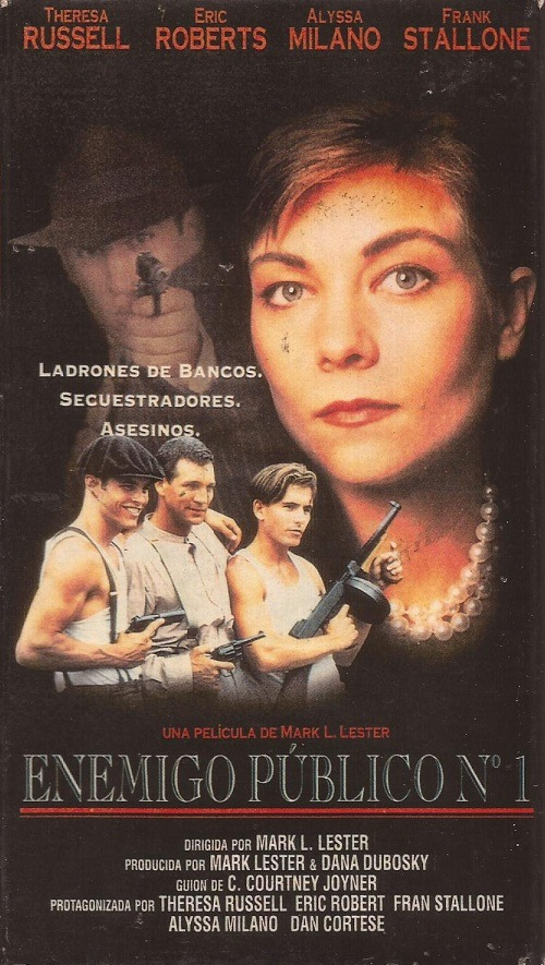 Enemigo Publico Numero 1 Vhs Theresa Russell Eric Roberts 6000