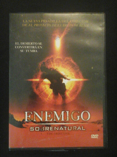 enemigo sobrenatural dvd