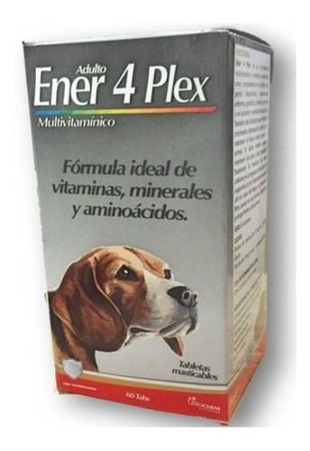 ener 4 plex adulto 60 tab vitaminas para perro equilibrium