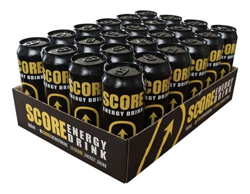energética score energy drink 500cc (24 unidades)