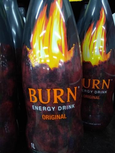 energético burn original 1l kit com 06 unidades