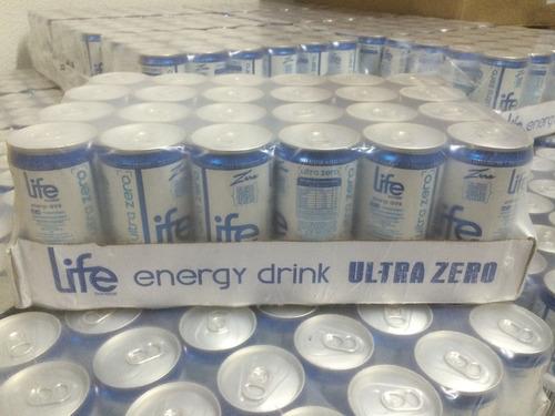 energético life booster caixa c/ 24 un de 269 ml