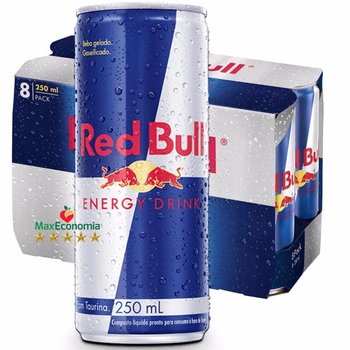 b4692e8c49f6b energético redbull pack com 16 latas de 250ml. Carregando zoom.