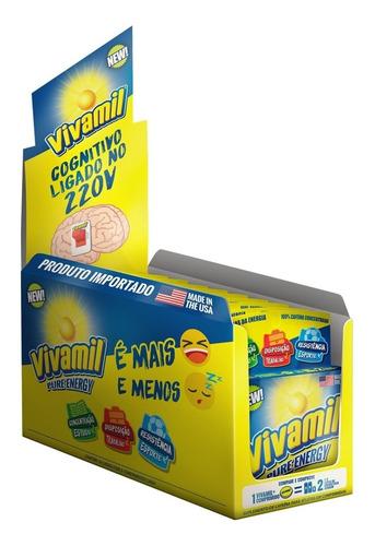 energético vivamil display 10 caixas com 5 comprimidos