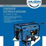 Generador Eléctrico 7 Kva Mod. Xgg7013 14hp Gasolina Muzin