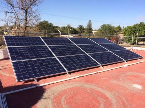 energía renovable, venta e instalación de paneles solares.