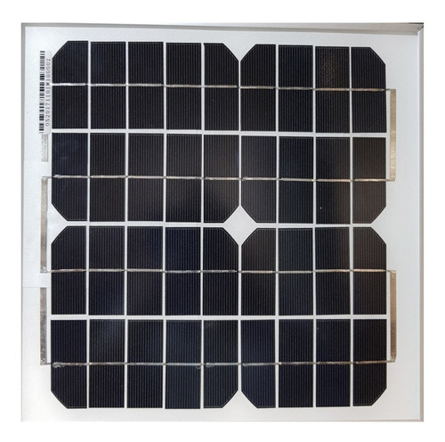 energía solar 10wp 10watts 10w  10 w p/ cargar baterías 12v