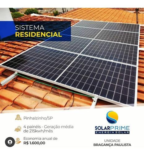 energia solar fotovoltaica - solarprime bragança paulista