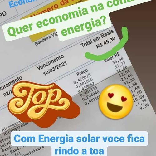 energia solar para redução conta de energia elétrica