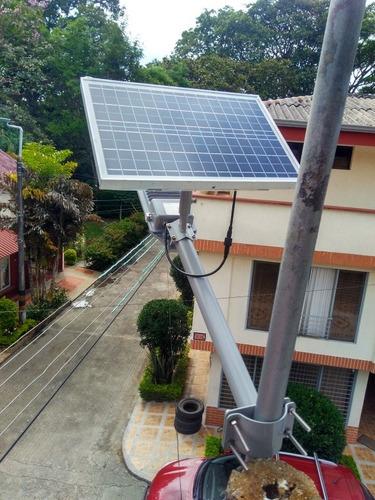 energía solar y automatización industrial