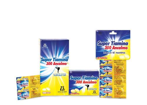 energia total super tiamina 300 5 cajas envio gratis