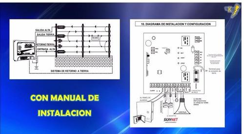 energizador hagroy hr-8000 cerco eléctrico 1 año de garant