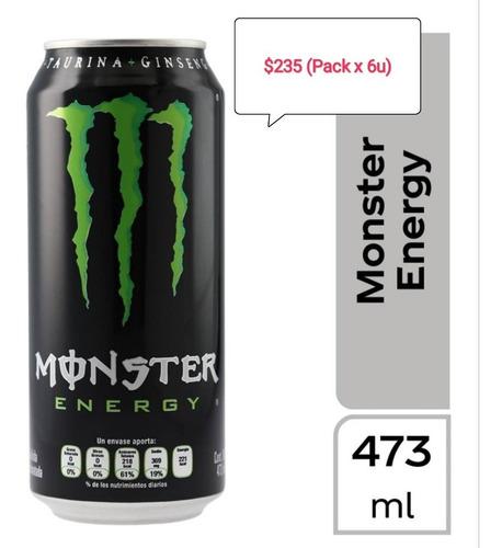 energizante monster pack x 6u. consulte stock antes de ofert