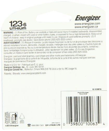 energizer photo battery 123 24 baterías