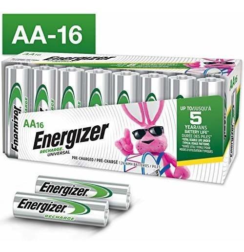Pilas Recargables 16 Unidades Energizer