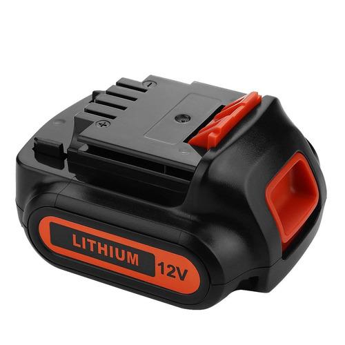 energup 2500mah 12 voltio reemplazo batería para negro & de