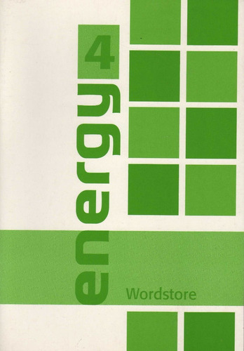 energy 4 student's book with wordstore & online support