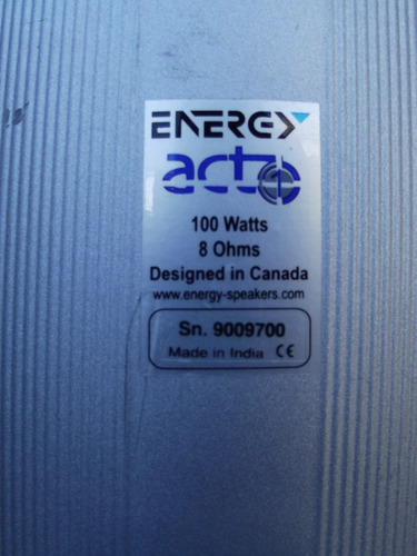 energy bocinas satelites act1 by klipch mirage para yamaha