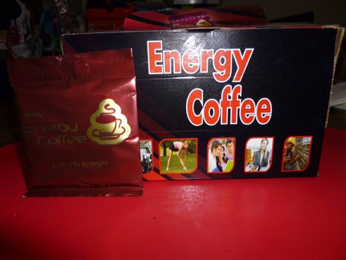 energy coffee 20 sobres