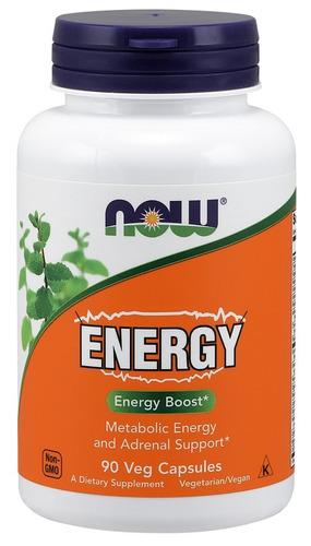 energy now foods - 90 caps veganas