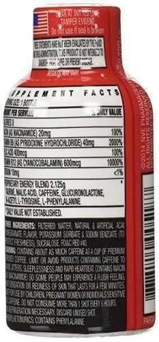 energy shot stacker b-12 acai & pomegranate 2 oz 1pk