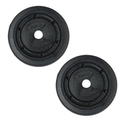 energym - par de discos texturizados 2.5 kg c/u