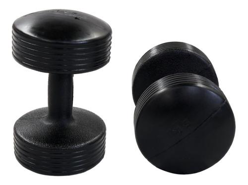 energym - par de mancuernas texturizadas de 5 kg c/u