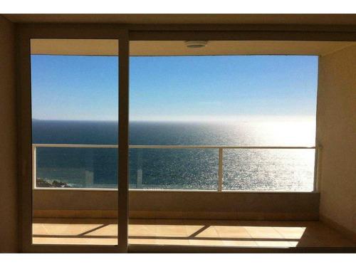 enero-febrero arrendado - gran vista panorámica - costa de montemar