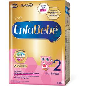 Enfabebe 2 Leche Premium (6 A 12 Meses) Polvo X 800 Grs