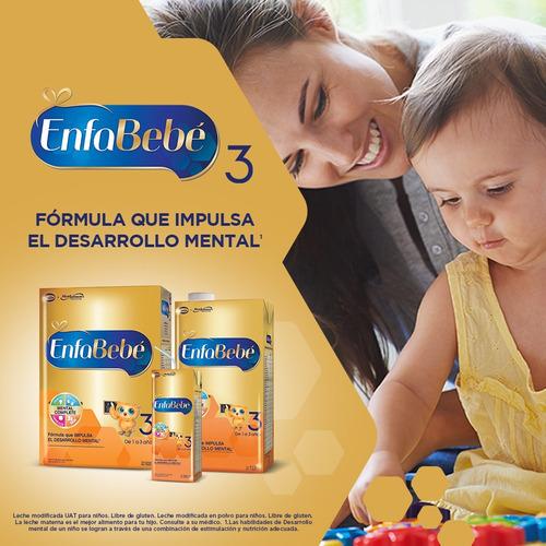 enfabebé 3 - pack leche infantil en polvo 6 cajas x 800grs