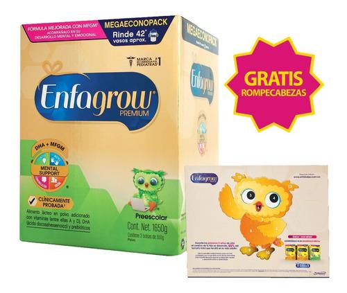 enfagrow preescolar 1650g + rompecabezas gratis