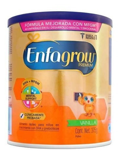 enfagrow premium fórmula infantil  vainilla 375g