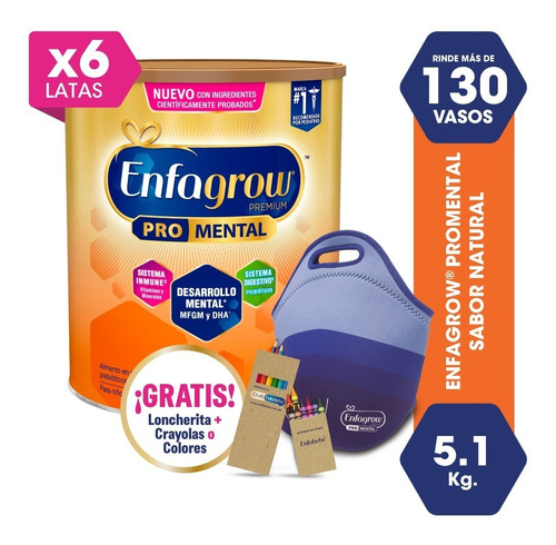 enfagrow® premium sabor natural- 5.1 kg