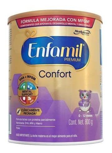 enfamil confort premium fórmula infantil 800g