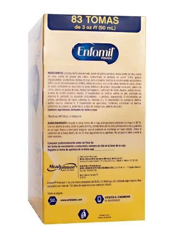 enfamil premium etapa 1 fórmula infantil 1100g