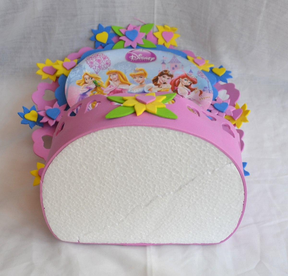 Enfeite centro mesa festa infantil princesas disney 35cm - Mesas infantiles disney ...