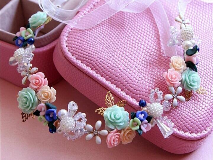 Enfeite De Tiara ~ Enfeite De Cabelo Tiara Flores Pre Wedding Casamento R$ 120,00 em Mercado Livre